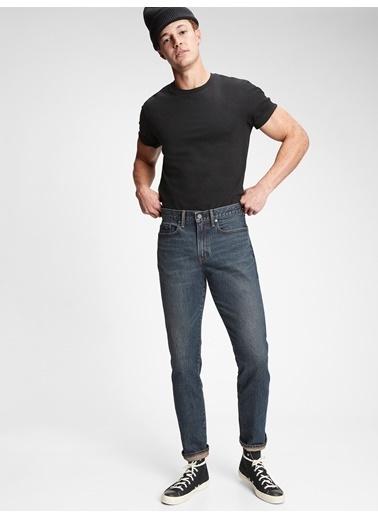 Gap Gapflex Slim Straight Jean Pantolon Lacivert